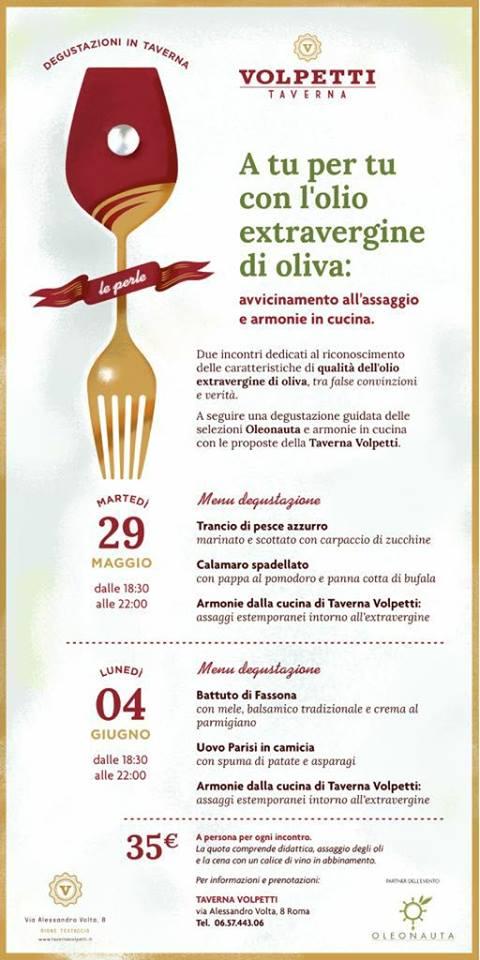 L'olio extravergine di oliva: assaggi e armonie in cucina