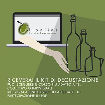 Kit degustazione e attestato di partecipazione